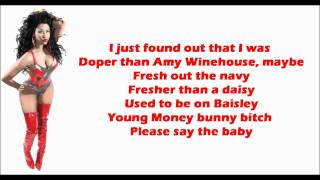 Nicki Minaj - Beam Me Up Scotty Lyrics Video