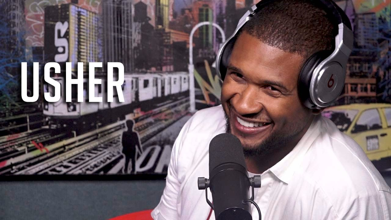 Usher Drops a Dope Freestyle On Funk Flex