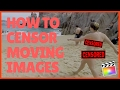 Censor Moving & Stationary Subjects - FCPX 10.3 Tutorial