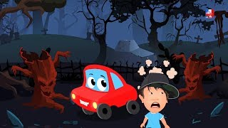 Bois effrayants | Chansons pour enfants | halloween rime | Scary Nursery Rhyme | Scary Woods Song