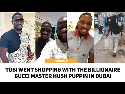BBNAIJA: Tobi Went Shopping With The Gucci Master HushPuppi As His Fans Welcome Him To Dubai [HD]