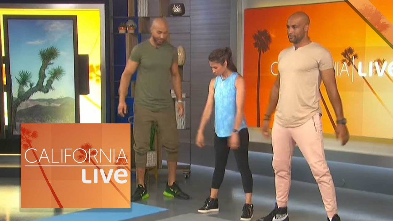 Download Workout with the Kodjoe Brothers | California Live | NBCLA