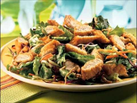 applebee s low  fat asian chicken salad