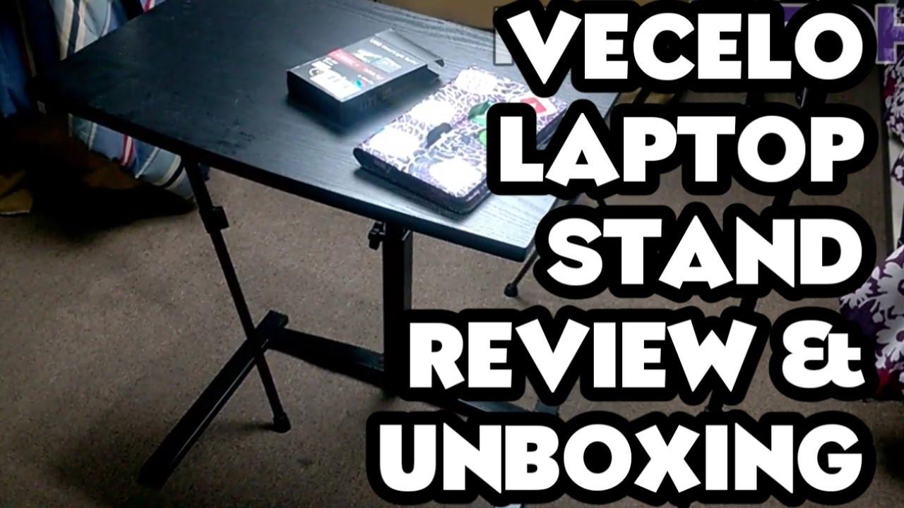 Vecelo Mobile Laptop Desk Cart Unboxing Review