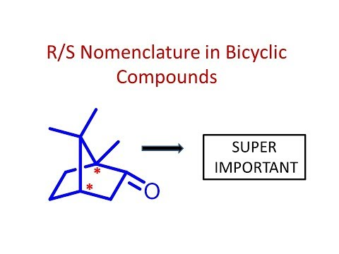 R/S Nomenclature in Bicyclic/Norborane systems