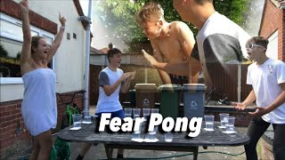 Fear Pong With Best Mate!! Ft. My Mum