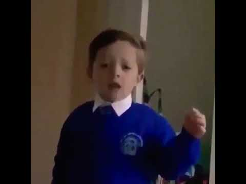 Brett 'Bside' Matthews - [ WATCH IT ] Kid Threatens Santa