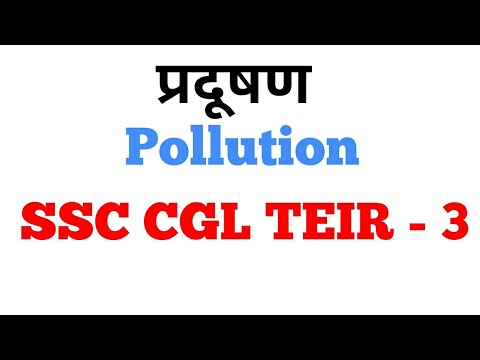 Pollution (प्रदूषण), SSC MTS Descriptive Paper - Essay for SSC MTS, Expected Topic SSC MTS Teir2