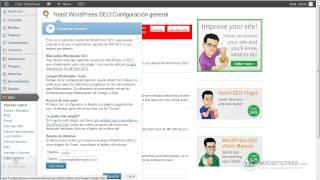 Configurar SEO en Wordpress (1ª parte)