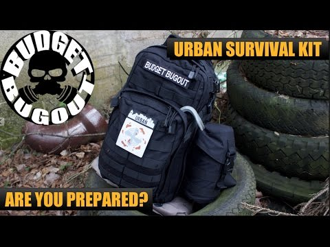 Urban Survival Kit Bug Out Bag Build Your Own Best