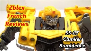 Studio Series 27 - Deluxe Class Clunker Bumblebee (Review in French)