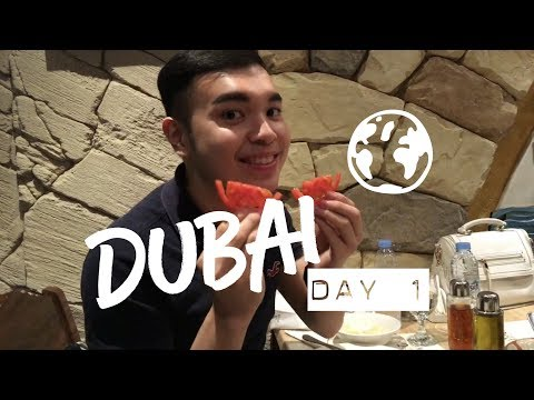 DUBAI VLOG 1: My first day in DUBAI! | Bren Mendoza