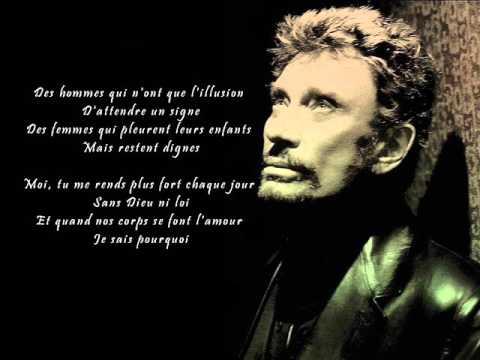 Johnny Hallyday - Vivre pour le meilleur (Paroles)