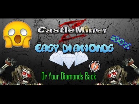 How To Find Diamond Really Easy: CastleMiner Z