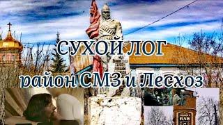 Сухой Лог. Маргинальные райончики СМЗ и Лесхоз.