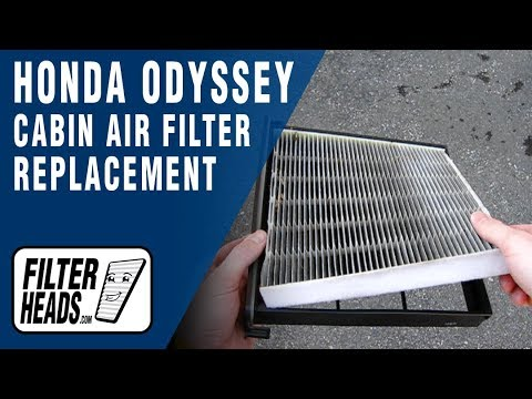 honda odyssey replace in cabin air filter 2005 2010