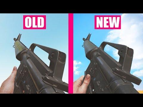 Rising Storm 2 Vietnam Old vs NEW Weapons Comparison  