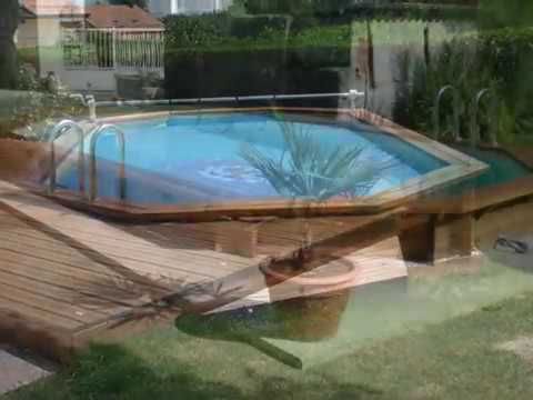construction piscine bois 49 youtube. Black Bedroom Furniture Sets. Home Design Ideas