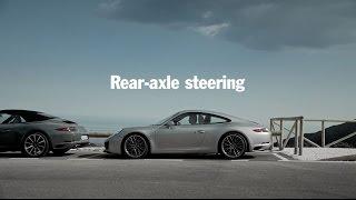 The new Porsche 911 Carrera – Rear-axle steering