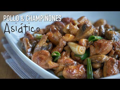 Vídeo-receta: Pollo con champiñones en salsa de ostras | Sabor de Asia