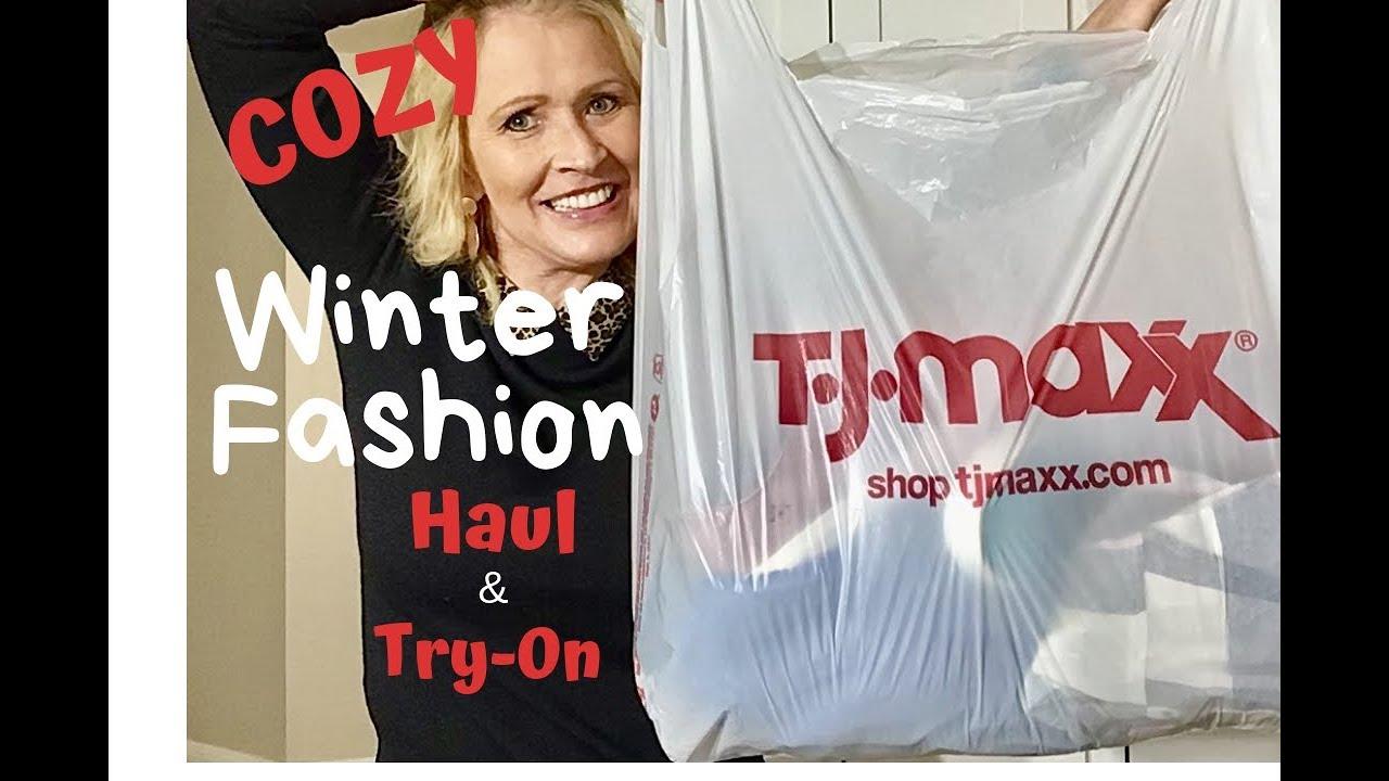 TJ Maxx Haul    Winter Fashions 2018