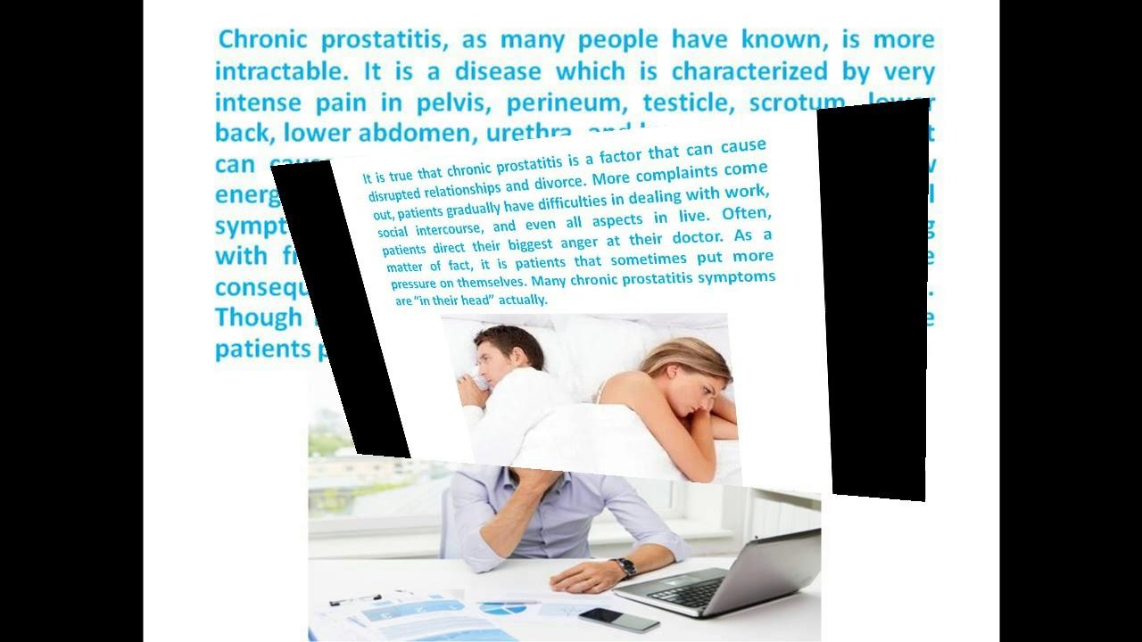 get rid of prostatitis
