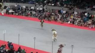 denver march powwow 2017 keya clairmonts special jingle vs grass