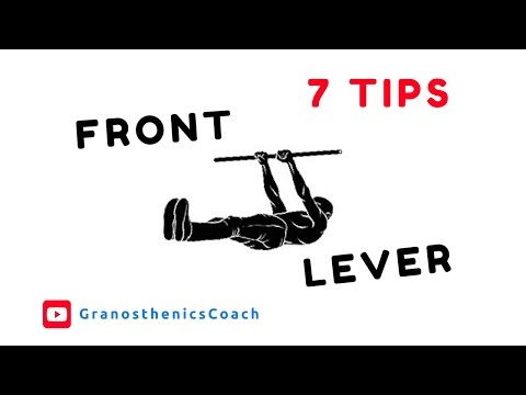 Calisthenics - 7 Exercises for Front Lever Workout