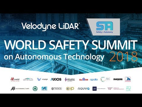 The World Safety Summit on Autonomous Technology (Velodyne Lidar Recap)