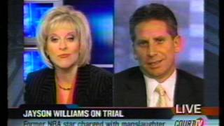 Court TV/Tru TV: Jayson Williams Murder: Nancy Grace interview w/ James Wronko & Jean Caraez