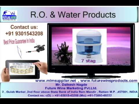 R.O. & Water Products India mlm product supplier,call on 09301543208