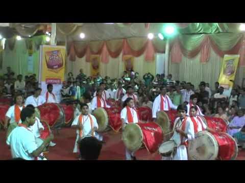 Swarajya vadya pathak at Sakal Dhol tasha competition - Part 1
