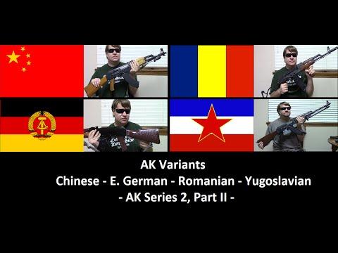 AK Variants: Chinese, East German, Romanian, & Yugoslavian (AK Series 2, Part II)
