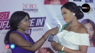 Most Beautiful Face Nigeria Red Carpet by Zanzy Entertainment - Voice Out TV