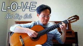 L-O-V-E / Nat King Cole – Guitar cover
