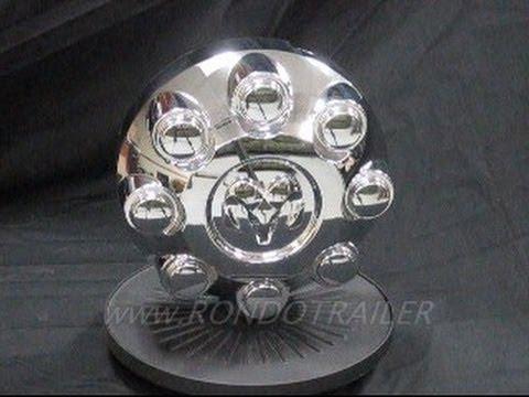 03-CURRENT DODGE TRUCK CENTER CAP 8 LUG GET A SUPER CLOSE LOOK 4 SALE! 1HL36TRMAA