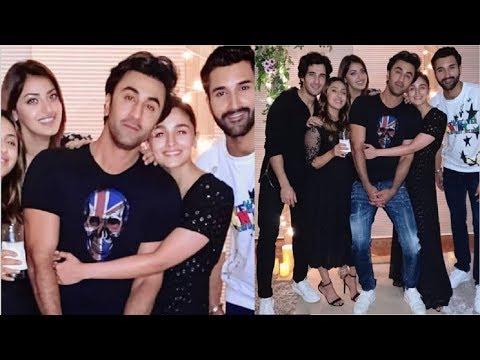 Alia Bhatt & Ranbir Kapoor ROMANTIC Moment At Akansha Ranjan's Birthday Party INSIDE Video Mp3