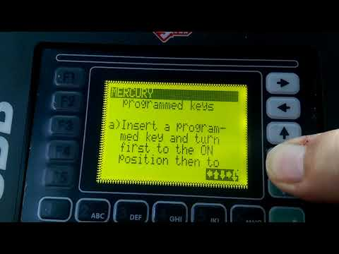 2009 Mercury Mariner Key With SBB Programmer - FAIL FAIL FAIL