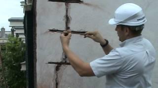 видео Как отремонтировать трещины в стенах?