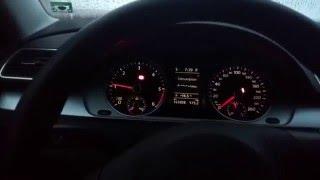 volkswagen passat b7 tdi cold start 16 5 c