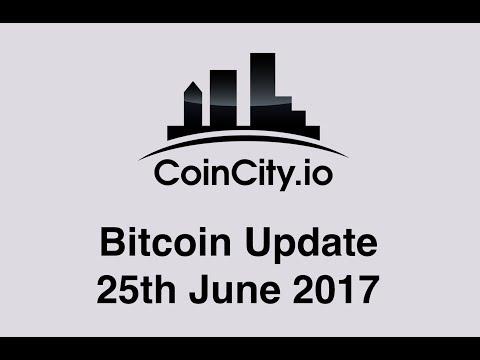 CoinCity Bitcoin Update 25th June 2017