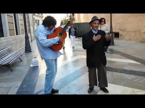 Malaga street music