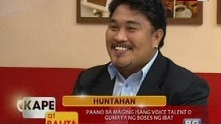 kb paano ba maging isang voice talent o gumaya ng boses ng iba
