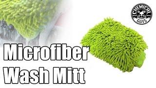 Chenille Microfiber Premium Scratch-Free Wash Mitt - Chemical Guys