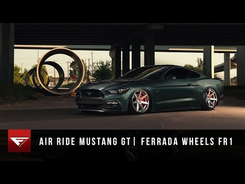 2015 Mustang GT | Bagged | Air Ride | Ferrada Wheels FR1