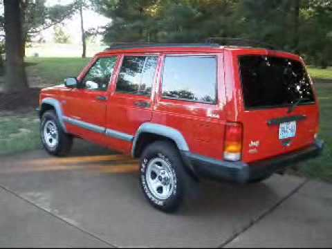 1998 jeep cherokee sport for sale st charles missouri. Black Bedroom Furniture Sets. Home Design Ideas