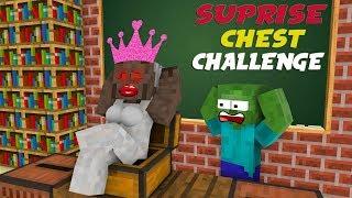 Monster School : SURPRISE CHEST CHALLENGE - Minecraft Animation