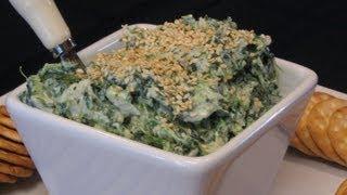 Sesame Spinach Spread -- Lynn's Recipes