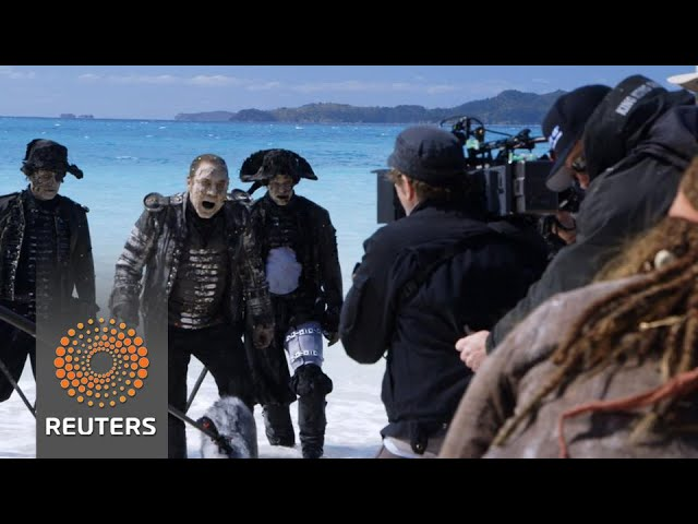 "Visual effects magic of latest ""Pirates"" movie"