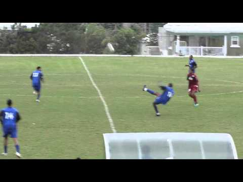 #2 Hamilton Parish vs Young Men Social Club Football Boxing Day Bermuda December 26 2011